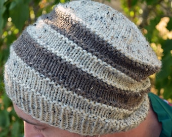 Simple Stripes Hat - Pattern Only