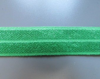 1.5cm Fold Over Elastic top quality x 1 metre 5 colours to choose