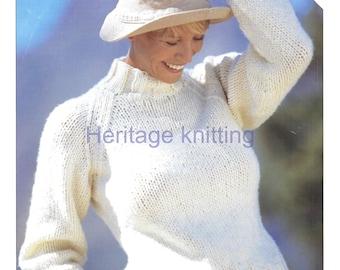 womens sweater  knitting pattern 99p pdf
