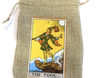 The Fool Tarot Pouch