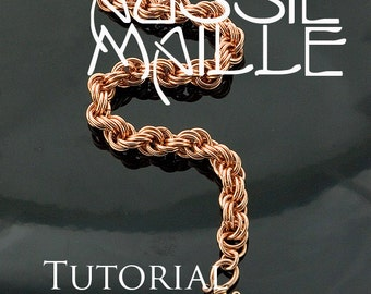 Chainmaille Tutorial - Double Spiral Bracelet