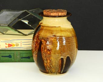 Studio Pottery Kitchen Canister