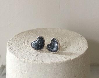 Earing faience - Handmade jewelery - purified - made in France
