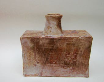 Large square Sided Vase by Terrence J Bunce MA