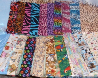Pets & Wildlife Cool Wraps, Cooling Neck Ties, Choice Color - Reusable, Washable - Summer Heat Relief Gel Scarves