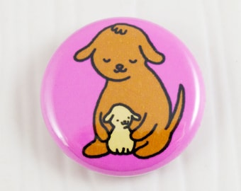 Baby Dogs Hug Button