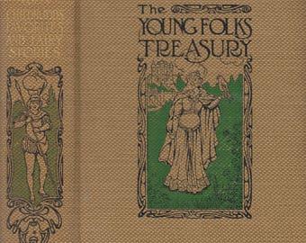 Young Folks Treasury Ten Volume set 1909