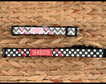 Gifts for Pet Lovers, Personalized Dog Collar With Name, Adjustable Custom Dog Collar Personalized Monogrammed ID Gift Pet Lover