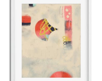 I Belong with You   |   fine art print  -  modern art, abstract expressionism, fine art STACY KRON