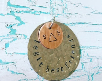 Personalized Stamped Charms