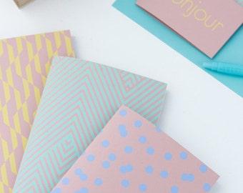"1 pocket notebook with ""Spring"" - 1 Pocket notebook ""Spring"" - art screen printing"