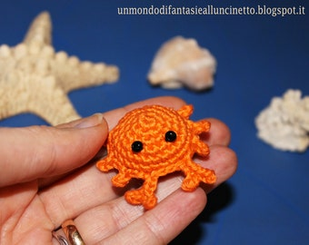 Crab amigurumi - Tutorial in italian