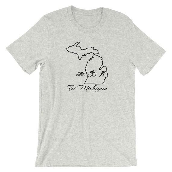 Michigan Triathlon Short-Sleeve Unisex T-Shirt