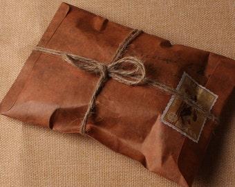 """50 Pcs 4"""" x 6"""" Vintage Paper Envelopes"""