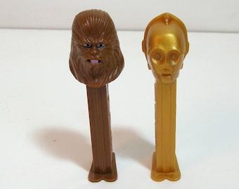 Vintage - Pez Dispensers - Star Wars