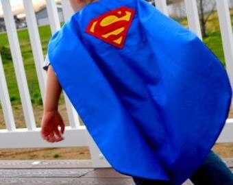 Reversible Super Hero Capes (Design your own)