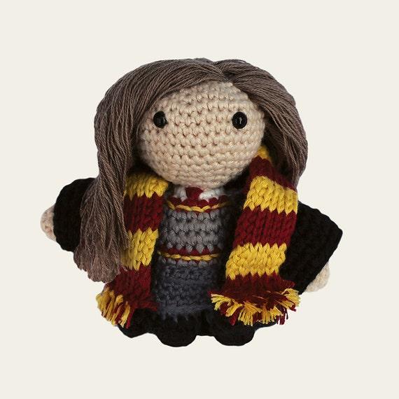 Hermione - Harry Potter. Amigurumi Pattern PDF.