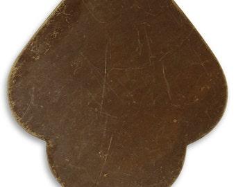 Vintaj 47.5x36.5mm India Detail - Natural Brass