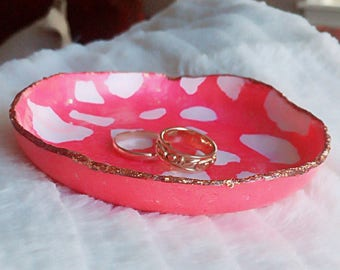 Polymer Clay Jewelry Dish / Ring Dish