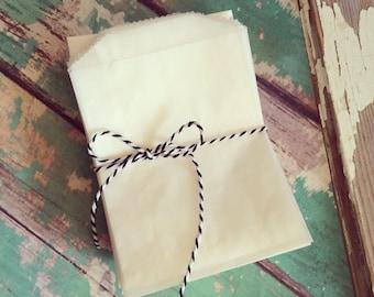 Glassine Bags 3x5 - 100 count glassine bags - Party Favor Bags - Glassine Party Bags - Glassine Party Sacks - Glassine Wedding Favor