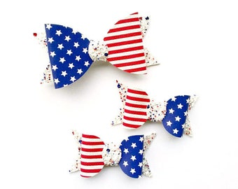 4th of July Bow | Stars and Stripes Bow