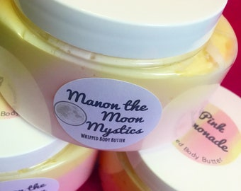 Pink lemonade whipped body butter