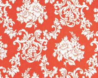 Free Spirit - Girls World Vibe Carrie by Jennifer Paganelli PWJP058 Damask Tangerine by the Yard