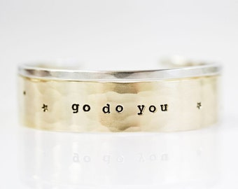 Graduation Gift / Go Do You / Gift For Her / Gift Idea / Gift For Her / Graduation Gift / Inspirational Gift / Inspirational Jewelry