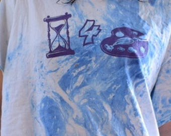 Time For Art Marbled Tee