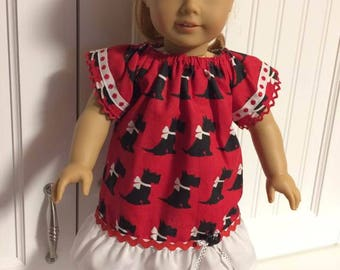 37-Dress for 18 inch doll like American Girl and other