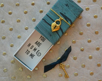 You are Home to Me Message Box and Gift Bag