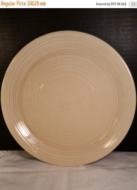 Delayed Shipping Franciscan Sand Reflections Dinner Plate Vintage Large Cream Colored Dinner Plate Cottage Chic Dinnerware Farmhouse Kitchen