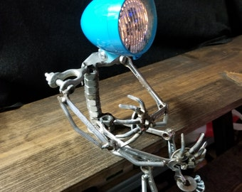 Steampunk Art style lamp (I'M SOBLUE)