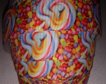 Lollipops Grosgrain Ribbon