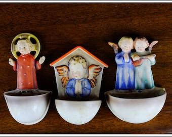 3 of Vintage Goebel Hummel Figurine Germany Hum #26, Hum #75, Hum #146