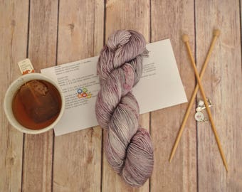 """Hand-dyed yarn, """"Octopus Embrace"""" Variegated, soft and squishy yarn. Great for socks or shawls. 80/20 Superwash wool/Nylon"""