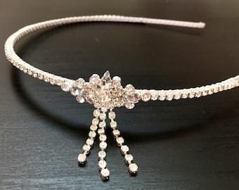 Gatsby Headband - 1920s headpiece - Flapper headband - Great Gatsby Headdress- Wedding -Party- New years party - ALTAIR FOREHEAD