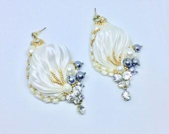White Cloud Earrings
