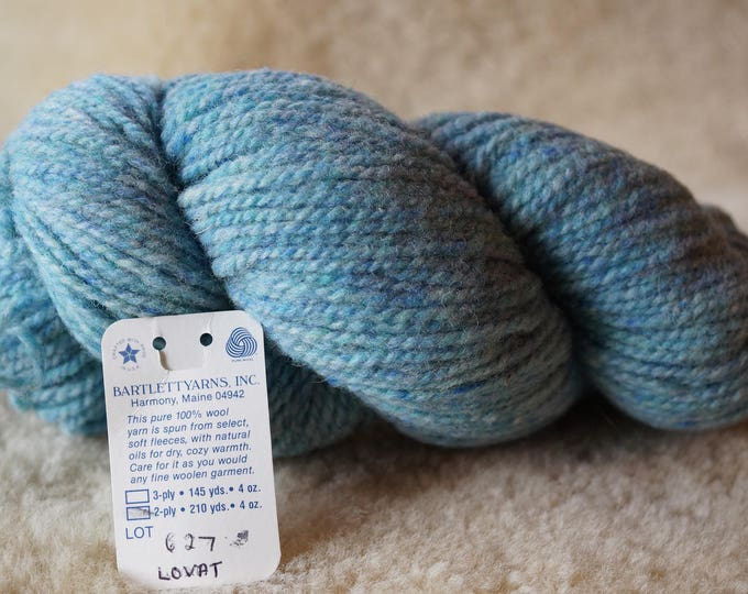worsted weight: LOVAT Glen Tweed 2 ply worsted weight wool yarn Bartlettyarn sale