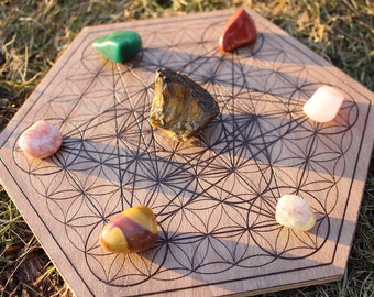 Metatron's cube / Flower of life - Crystal grid
