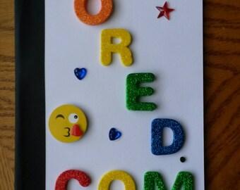 BORED.COM notebook