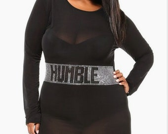 Humble see through dress