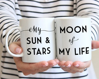 Mugs for couples Game of Thrones quote my sun and stars moon of my life coffee mug wedding mugs Sassy Gals Wisdom wedding gifts for couples