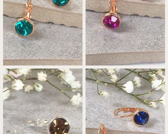 Buy two pairs of crystal earrings and GET ONE FREE.