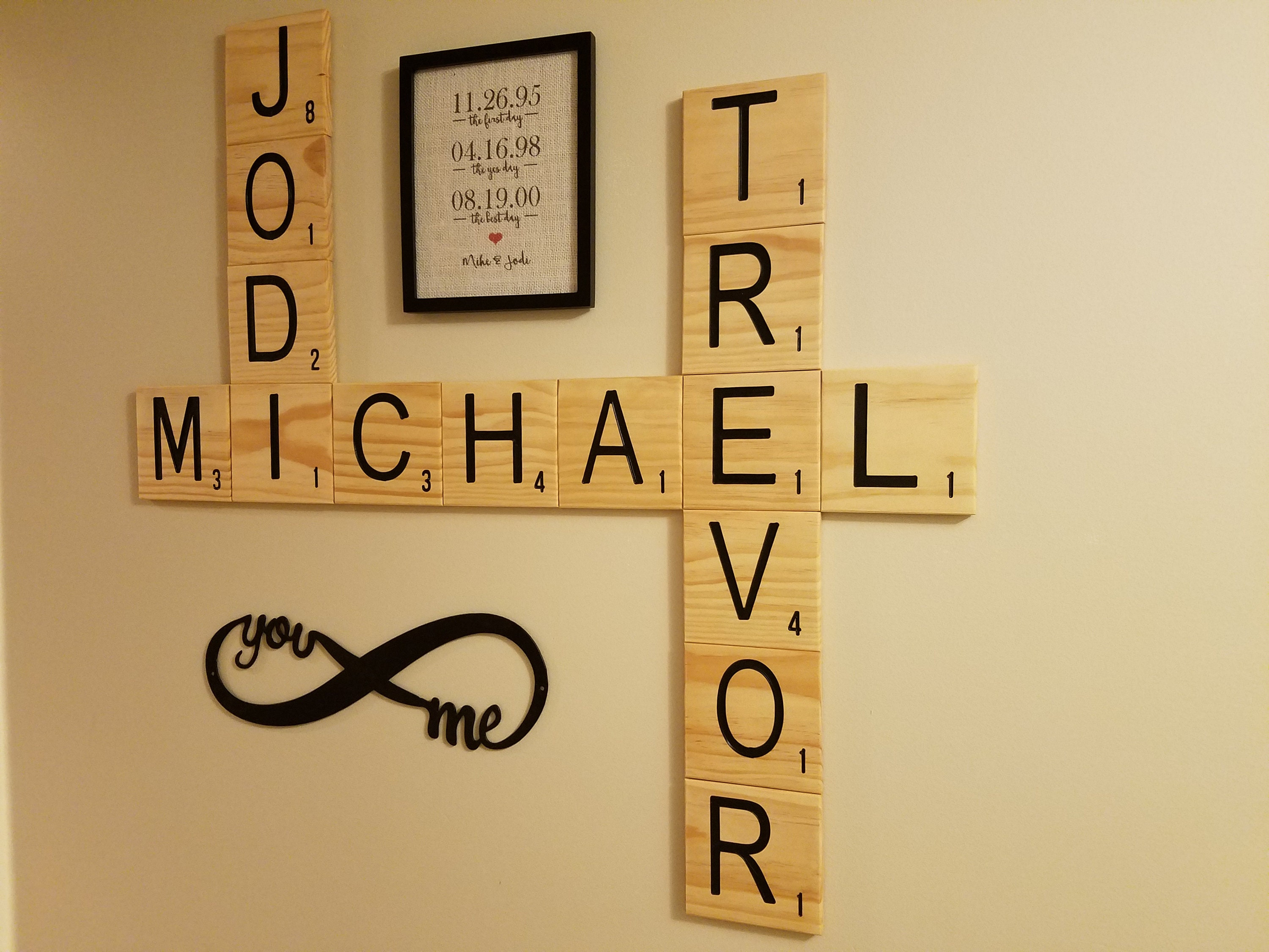 Scrabble Letter Wall Decor Image collections - home design wall stickers