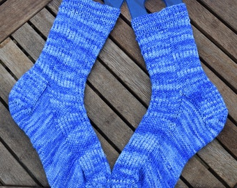 Slippery When Wet Sock Pattern
