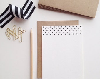 Polka Dot Letter Writing Set