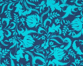 Amy Butler Lark | Quilt Cotton | Precuts | 5 Fat Quarters | Quilting Cotton | Blue | Green