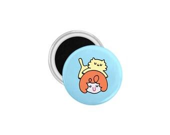 Fridge Magnet-Small Gift-Cute Fridge Magnet-Refrigerator Magnets-Cat Lady Gift-Gift For Mom-Small Housewarming Gift