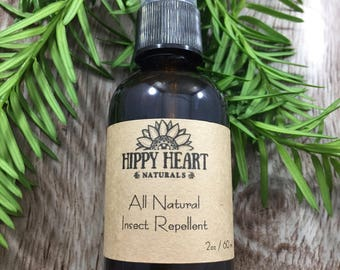 Bug spray / insect repellant / natural bug spray/ camping gifts / deet free bug spray/ non toxic bug repellant/ hippie gifts/ summer